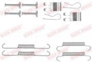 Монтажный комплект тормозных колодок QUICK BRAKE 105-0013
