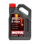 Motul Моторное масло Motul 8100 X-max 0W-30