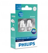 Комплект светодиодов Philips Vision LED (T10 / W5W) 127914000KX2, 127916000KX2