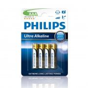 Батарейки Philips LR03 AAA Ultra Alkaline (LR03E4B/10)