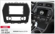 Переходная рамка Carav 11-634 для Nissan Maxima 2016+, 2 DIN