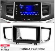 Переходная рамка Carav 11-652 для Honda Pilot 2016+, 2 DIN