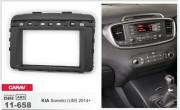 Переходная рамка Carav 11-658 для Kia Sorento (UM) 2014+, 2 DIN