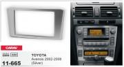 Переходная рамка Carav 11-665 для Toyota Avensis 2002-2008, 2 DIN