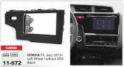 Переходная рамка Carav 11-672 для Honda Fit, Jazz 2013+, 2 DIN