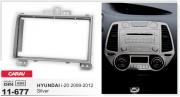 Переходная рамка Carav 11-677 для Hyundai i20 2009-2012, 2 DIN