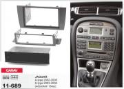 Переходная рамка Carav 11-689 для Jaguar S-type 2003-2008, X-type 2002-2008, 2 DIN / 1 DIN