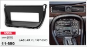 Переходная рамка Carav 11-690 для Jaguar XJ 1997-2003, 1 DIN