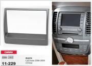 Переходная рамка Carav 11-229 для Buick LaCrosse 2006-2009, 2 DIN