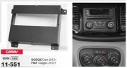 Переходная рамка Carav 11-551 для Dodge Dart / Fiat Viaggio 2012+, 1 DIN