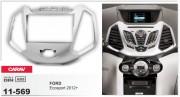 Переходная рамка Carav 11-569 для Ford EcoSport 2012+, 2 DIN