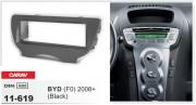 Переходная рамка Carav 11-619 для BYD F0 2008+, 1 DIN