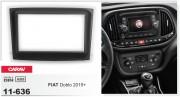 Переходная рамка Carav 11-636 для Fiat Doblo 2015+, 2 DIN