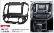 Переходная рамка Carav 11-646 для Chevrolet Colorado / GMC Canyon 2015+, 2 DIN