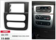 Переходная рамка Carav 11-660 для Dodge Ram 2002-2005, 2 DIN