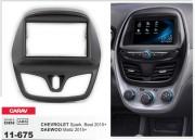 Переходная рамка Carav 11-675 для Chevrolet Beat, Spark / Daewoo Matiz 2015+, 2 DIN