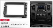 Переходная рамка Carav 11-684 для Dodge Ram 2013+, 2 DIN