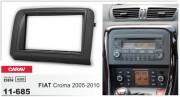 Переходная рамка Carav 11-685 для Fiat Croma 2005-2010, 2 DIN