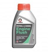 Промывка масляной системы Comma Petrol & Diesel Engine Flush (400мл)