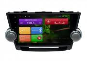 Штатная магнитола RedPower 31035 IPS для Toyota Highlander II U40 (Android 7+)