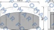 Тормозные колодки FOMAR FO 426981