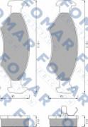 Тормозные колодки FOMAR FO 430981