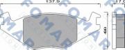 Тормозные колодки FOMAR FO 436881