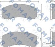 Тормозные колодки FOMAR FO 445081