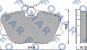 Тормозные колодки FOMAR FO 450181