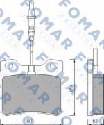 Тормозные колодки FOMAR FO 454881