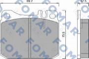 Тормозные колодки FOMAR FO 467981