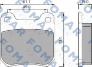 Тормозные колодки FOMAR FO 468781