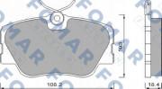 Тормозные колодки FOMAR FO 474281