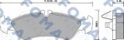 Тормозные колодки FOMAR FO 627781
