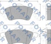 Тормозные колодки FOMAR FO 647781