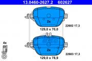 Гальмівні колодки ATE 13.0460-2627.2