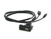 Удлинитель USB / AUX Connects2 CTMAZDAUSB для Mazda 2, 3, 5, 6, CX-5 2012+, CX-7 2012