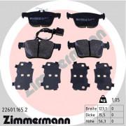 Тормозные колодки ZIMMERMANN 22601.165.2