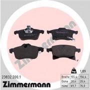 Тормозные колодки ZIMMERMANN 23832.200.1