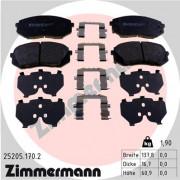 Тормозные колодки ZIMMERMANN 25205.170.2