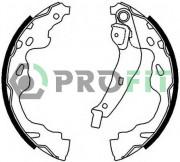 Барабанные тормозные колодки PROFIT 5001-0672