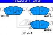 Тормозные колодки ATE 13.0460-7321.2