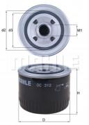 Масляный фильтр MAHLE OC312