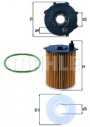 Масляный фильтр MAHLE OX171/2D1