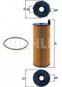 Масляный фильтр MAHLE OX196/3D