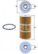 Масляный фильтр MAHLE OX389/1D
