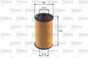 Масляный фильтр VALEO 586550