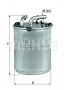 Топливный фильтр MAHLE KL778
