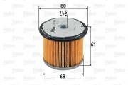Топливный фильтр VALEO 587900