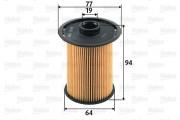 Топливный фильтр VALEO 587918